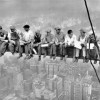 Fotos famosas: Almorzando en lo alto de un rascacielos, de Ebbet