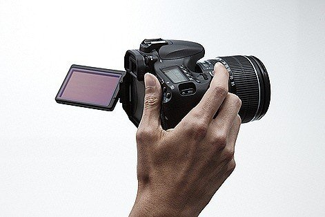 EOS 60D HANDHELD w LCD OPEN