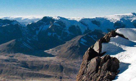 Glaciar-Quelccaya
