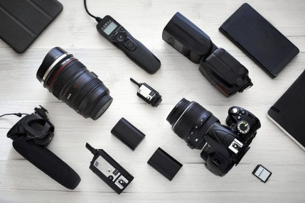 Accesorios basicos de fotografia bateria