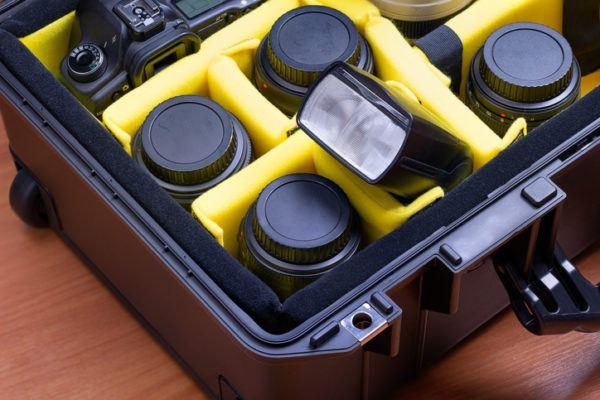 Accesorios basicos de fotografia bolsa