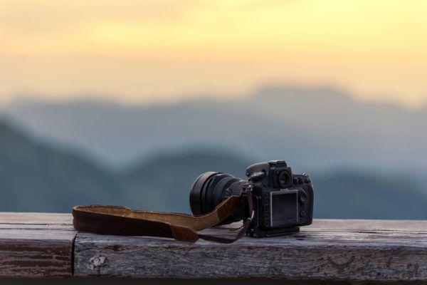 Accesorios basicos de fotografia tarjeta