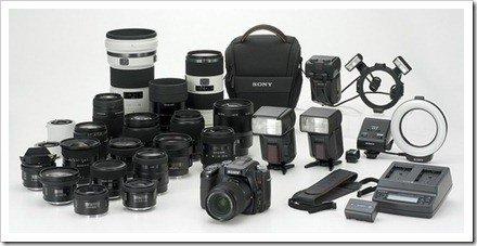 accesorios camara de fotos