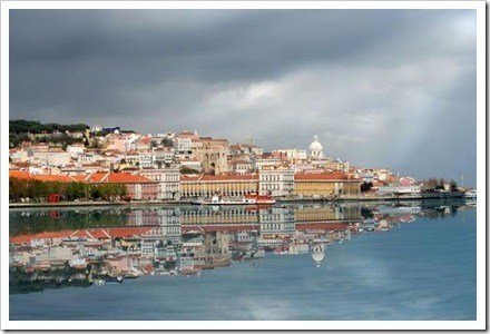 ciudad reflejada Lisboa