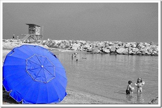 color en foto blanco y negro