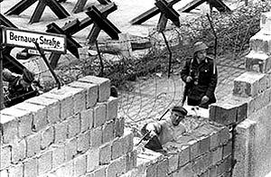 Construcción del Muro de Berl�n