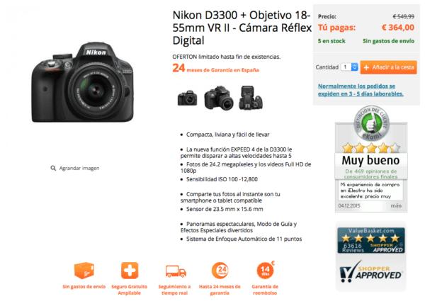 encuentra-los-precios-mas-baratos-para-nikon-d3300