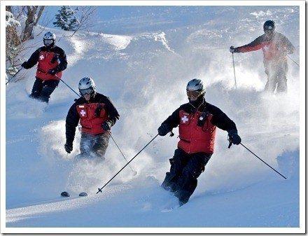esqui en movimiento