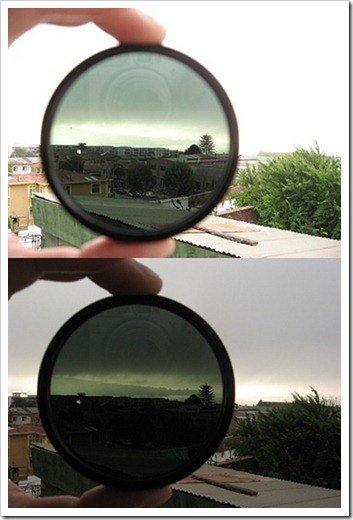 filtro comparación