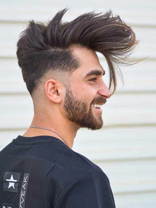Fotos cortes de pelo corto hombre corto degradado capas largas