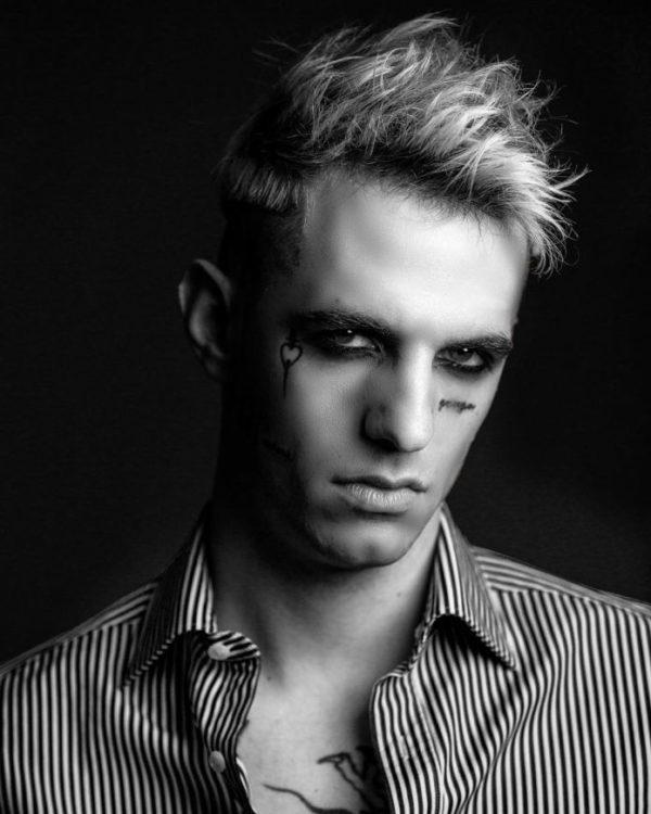 Fotos cortes de pelo corto hombre degradado flequillo de punta