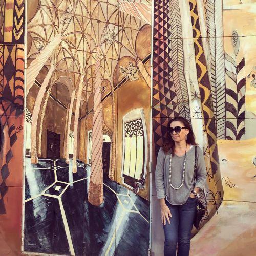 Pintura tridimensional en fachada