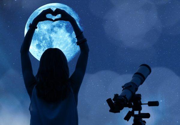 Fotos luna llena amor