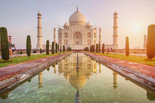Fotos siete maravillas mundo Taj Mahal INDIA