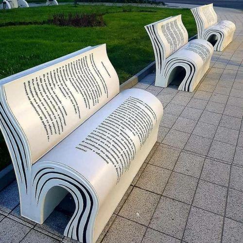 Asientos en forma de libro