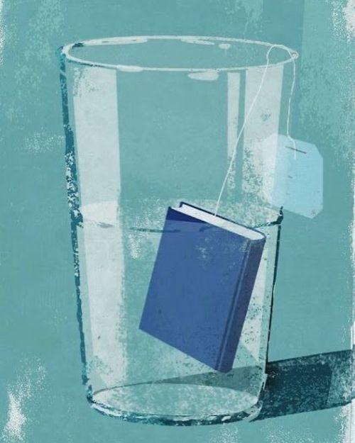 Infusión de libro