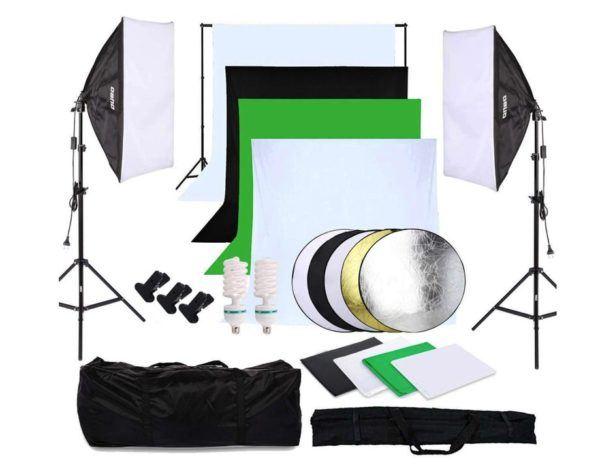 Kit de estudio fotográfico completo de OUBO