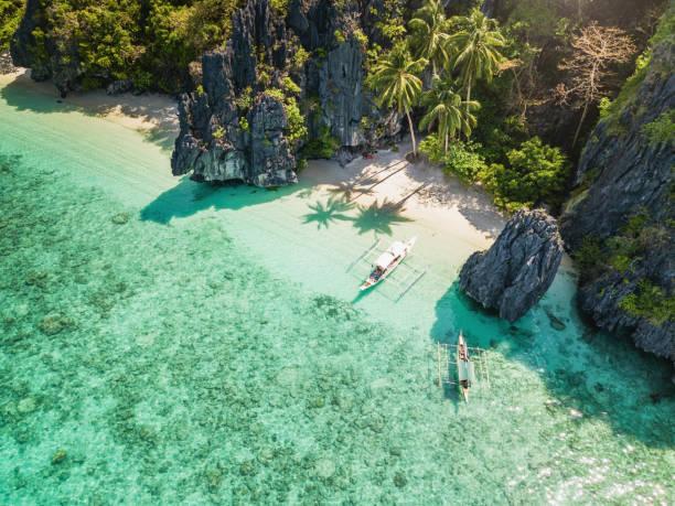 Las mejores fotos de paisajes PLAYA  playa palawan filipinas