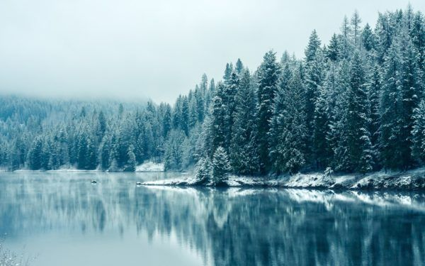 las-mejores-fotos-de-paisajes-nevados-lago