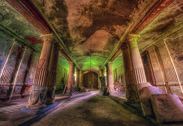 las mejores fotos de palacios abandonados