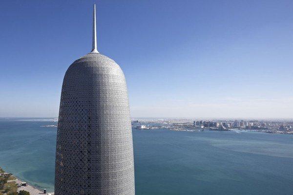 las-mejores-fotos-de-rascacielos-Doha-Tower-Qatar