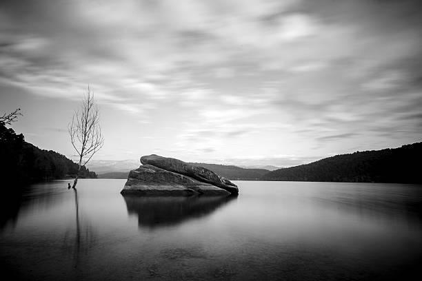 Las mejores fotos en blanco y negro lago