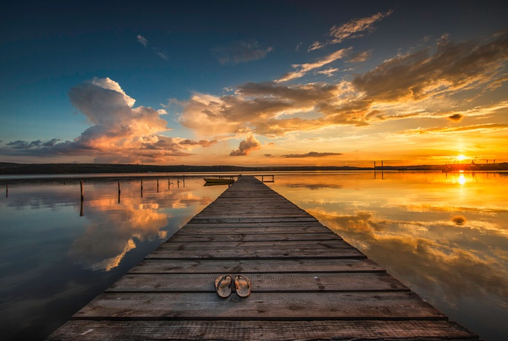 Mejores fotos mar puesta sol