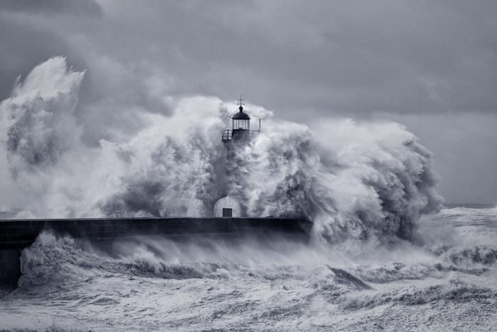 Mejores fotos mar tormenta