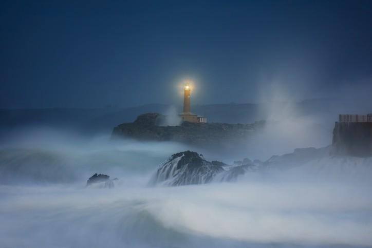 Mejores fotos mar tormentas