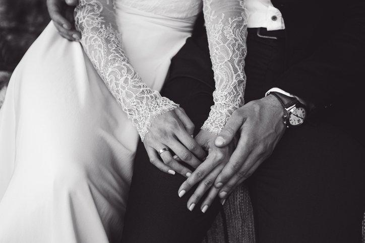 Mejores fotos novios casandose
