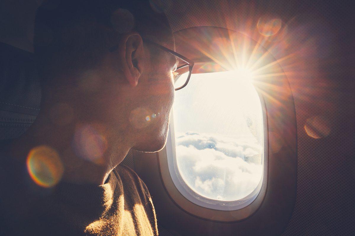Mejores fotos verano perfil ventana avion