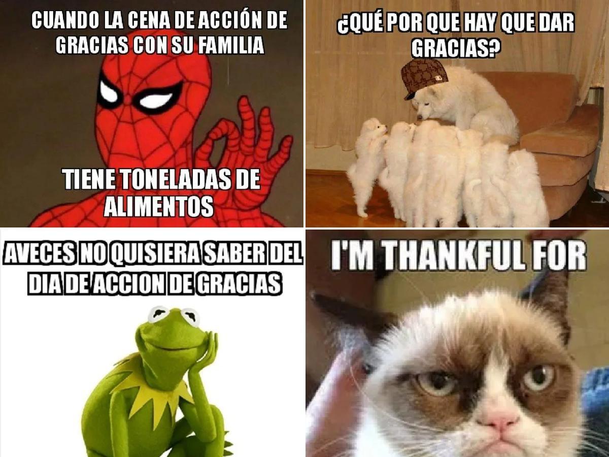 Memes Acción de Gracias 2021