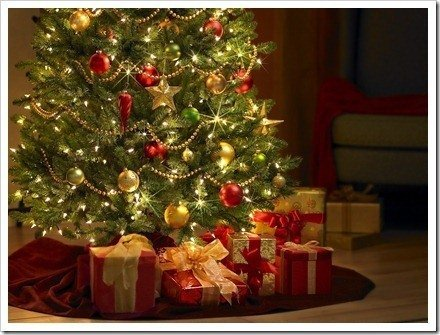 navidad arbol ftografia