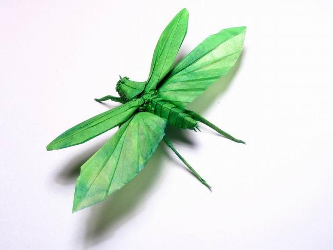 Origami libelula