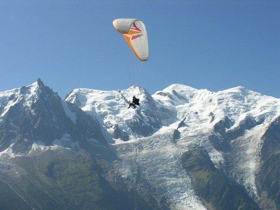 Parapente en Suiza