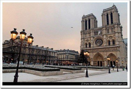 paris nieve