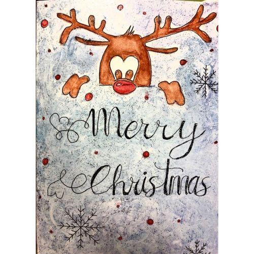 Postal Merry Christsmas