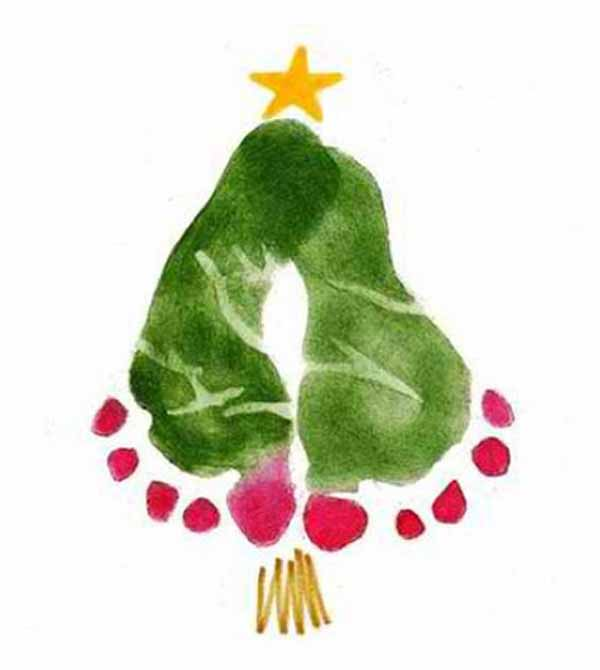 postales-de-navidad-pies-arbol