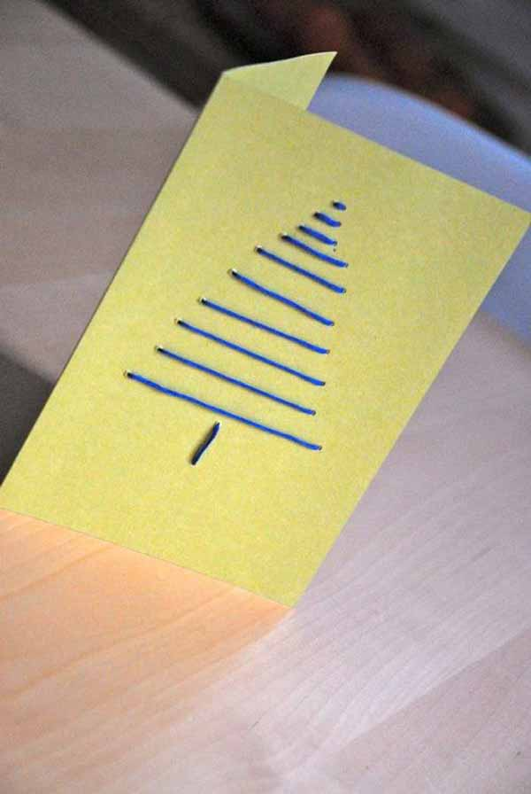 postales-de-navidad-sencilla