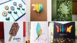 30 fotos de tarjetas regalo caseras: ideas originales