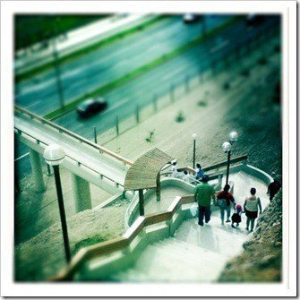 tilt shift puente