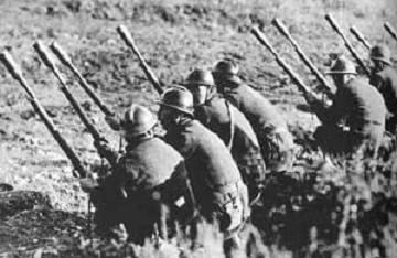 Tropas francesas de guardia
