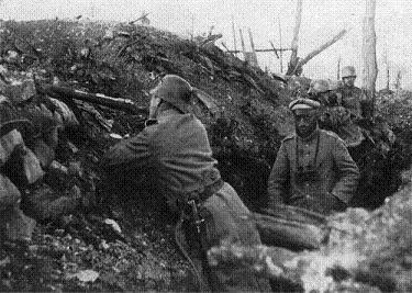 Trinchera alemana